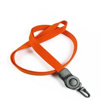 The single color j hook lanyard with a j hook.