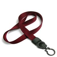 The single color key chain lanyards with key chains.