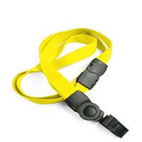 The single color breakaway lanyard clips with bulldog clips.