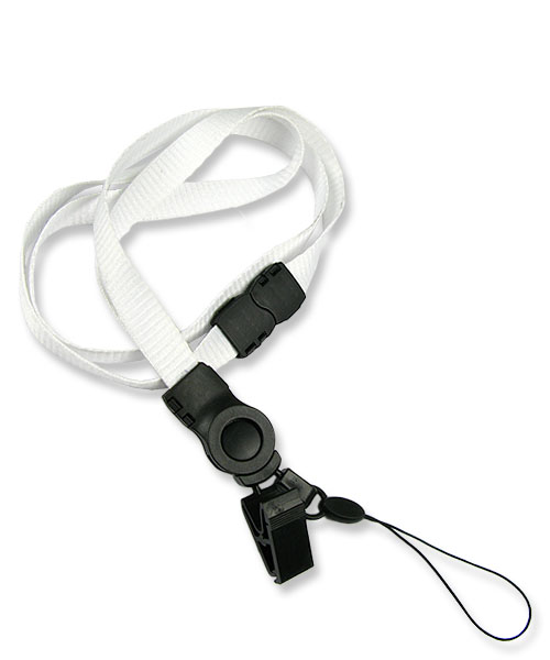 Safety Mobile Phone Clip Lanyard Was Made With A Swivel Clip Mobile