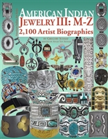 AMERICAN JEWELRY III: M-Z 2,100 ARTIST BIOGRAPHIES