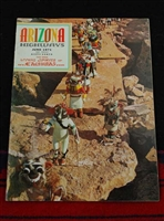 ARIZONA HIGHWAYS JUNE 1971 LIVING SPIRITS OF KACHINAS