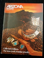 ARIZONA HIGHWAYS APRIL 1979 COLLECTOR'S EDITION JEWELRY