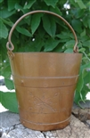 STAMPED COPPER PAIL FROM GARDEN OF THE GODS