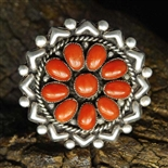 GORGEOUS LEE AND MARY WEEBOTHEE CORAL RING