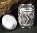 WONDERFUL STEVE TAYLOR SILVER CONTAINER