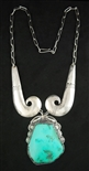 LOVELY MORRIS ROBINSON TURQUOISE NECKLACE