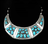 BEAUTIFUL CIPRIANO ROMERO PANEL NECKLACE