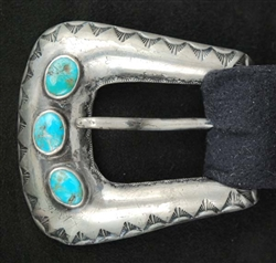 FRANK PATANIA SR. TURQUOISE RANGER BUCKLE SET