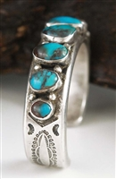 BEAUTIFUL MARK CHEE BISBEE TURQUOISE BRACELET