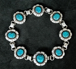 MARY MARIE LINCOLN LONE MOUNTAIN LINK BRACELET