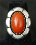 MARY MARIE LINCOLN CORAL RING