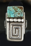 MORRIS ROBINSON #8 TURQUOISE RING