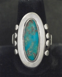 LOVELY MORRIS ROBINSON TURQUOISE RING