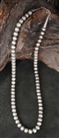 LOVELY STAMPED NAVAJO PEARL BEAD NECKLACE