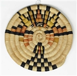 Hopi Coil Plaque, Maiden Design c. 1950