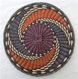 Hopi Wicker Plaque Storm Design