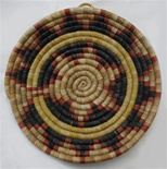Hopi Coil Plaque, Navajo Wedding Design c.1940