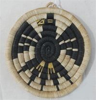 Hopi Coil Plaque, Eagle Design c.1950