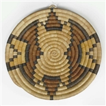 Hopi Coil Plaque, Geometric Design c. 1940