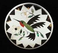 DENNIS EDAAKIE 1965 HUMMING BIRD PIN