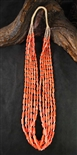 BEAUTIFUL KEWA MEDITERRANEAN CORAL NECKLACE