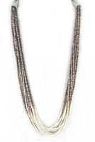 LOVELY 10 STRAND ED AGUILAR HESHI NECKLACE