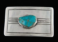 NAVAJO LONE MOUNTAIN BUCKLE