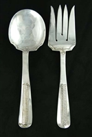 ELEGANTLY STAMPED AUSTIN WILSON SERVING SET