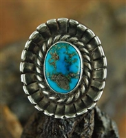 BEAUTIFUL WOODARDS INDIAN SHOP TURQUOISE RING