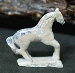 HUBERT PINCION MARBLE HORSE FETISH