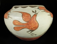 SEFERINA BELL POLYCHROME STORAGE JAR