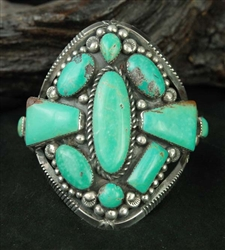 BEAUTIFULLY CRAFTED FOX TURQUOISE BRACELET