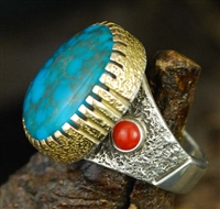 ROBERT SORRELL CANDELARIA TURQUOISE RING