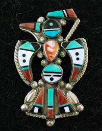 TEDDY WEAHKEE THUNDERBIRD PIN