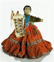 VINTAGE NAVAJO DOLL BY KAY BENNETT