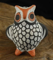 TRADITIONAL ACOMA CLAY OWL