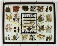 ISABELL DISCHINNY 1960'S NAVAJO DYE CHART