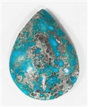 NATURAL MORENCI TURQUOISE CABOCHON 56 cts