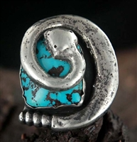 RAMONE PLATERO AWESOME SNAKE RING