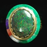 "VICTOR GABRIEL GREEN OPAL 14K GOLD RING<SPAN style=""COLOR: #ff0000; FONT-WEIGHT: bold"">*SOLD*</SPAN></SPAN>"