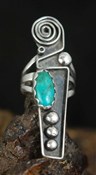 BEAUTIFUL VIDAL ARAGON TURQUOISE RING