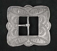 BEAUTIFUL IKE WILSON STAMPED BUCKLE
