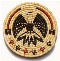 Hopi Coil Plaque, Eagle Design