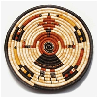 Hopi Coil Plaque, Mud Head Design