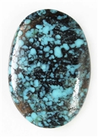 NATURAL HUBEI CHINESE TURQUOISE CABOCHON 14.5 cts