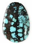 NATURAL HUBEI CHINESE TURQUOISE CABOCHON 9 cts