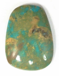 NATURAL ROYSTON TURQUOISE CABOCHON 26.5cts