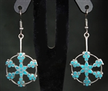 VIRGIL DISHTA SR TURQUOISE EARRINGS