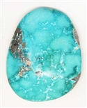 NATURAL KINGMAN WATER WEBBED CABOCHON 33 cts